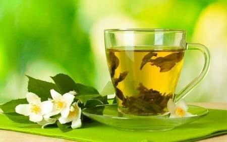 groen thee masker